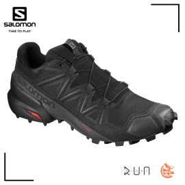 Salomon Speedcross 5 Black black Phantom Homme