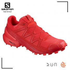 Salomon Speedcross 5 High Risk Barbados Homme