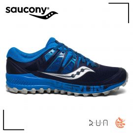 Saucony Peregrine Iso Blue Navy Homme