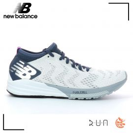 New Balance FuelCell Impulse White Pink Femme