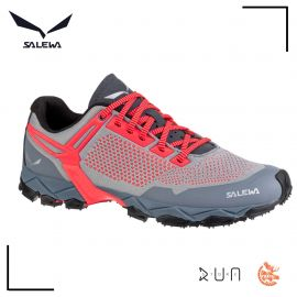 Salewa Lite Train K Blue Fog Fluo Coral Femme