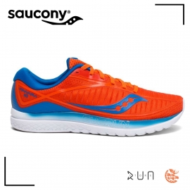 Saucony Kinvara 10 Orange Bleu Homme