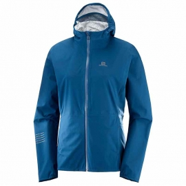 Salomon Veste Lightning Waterproof Jacket Poseidon Femme