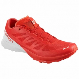 Salomon S/LAB Shoes Sense 7 Racing Red Black White