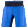 Salomon Trail Runner Twinskin Short Nautical Blue Homme