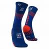 Compressport Mid Compression Socks Bleu Blue