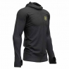 Compressport 3D thermo seamless zip hoodie Black Edition 2019