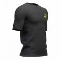 Compressport Training Tshirt Manches Courtes Black Edition 2019