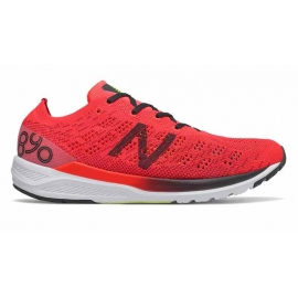 New Balance 890 V7 Red Black Homme